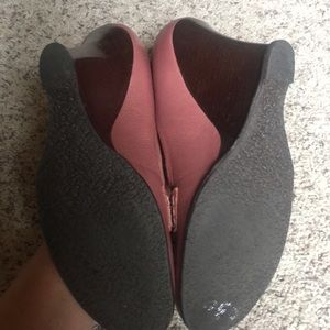 Vince Camuto Shoes - Wedge loafers dusty rose 8